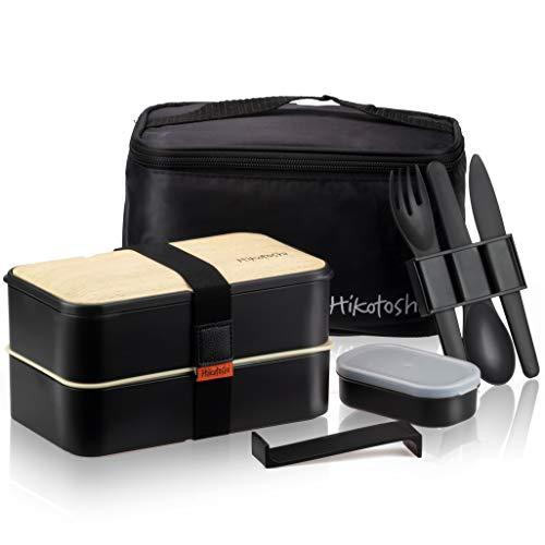 Hikotoshi - Fiambrera Bento japonesa para almuerzos, contenedor hermético para alimentos...