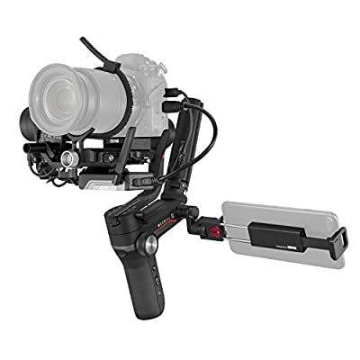 WEEBILL-S comatible with mainstream mirrorless and DSLR camera & lens combos. Combos like Sony A7Ⅲ+FE 24-70mm F2.8 and Canon 5D4+EF 24-70mm F2.8 can be perfectly balanced and stabilized for smooth cinematic shots under different scenarios Compact siz...