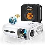 YABER Pro V7 9500L 5G WiFi Bluetooth Projector, Auto 6D Keystone Correction &4P/4D, Infinity...