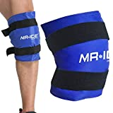 Knee Gel Ice Pack Wrap Large Hot Cold Therapy Compress Pain Relief for Surgery Injuries, Recovery, Aches, Bruises & Sprains (21.7 * 9.8 inch)