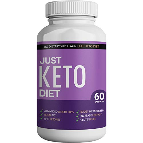 Just Keto Diet - Advanced Ketosis Weight Loss - Premium Keto Diet Pills - Burn Fat for Energy not Carbs 1