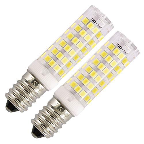 Lampadine per cappa cucina ZSZT LED E14 7W Equivalenti a 50W Bianco Freddo 6000K AC220-240V Piccola...
