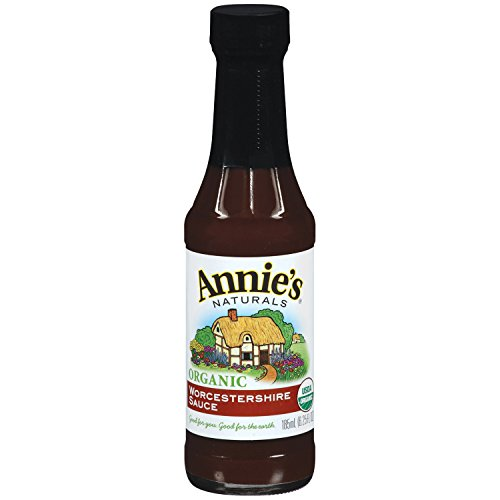 Annie's Organic Worcestershire Sauce Vegan 6.25 fl oz Bottle
