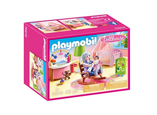 PLAYMOBIL Dollhouse 70210 Babyzimmer, ab 4 Jahren
