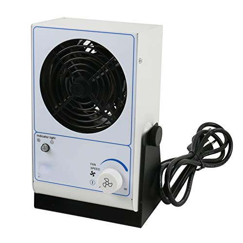 QWERTOUR PC Ionizing Air Blower ioni Ventilatore Anti-statico Eliminare apparecchiature ESD Desktop...
