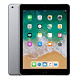 iPad (2018 Latest Model) with Wi-Fi only 32GB Apple 9.7in iPad MR7F2LL/A Space Gray (Renewed)