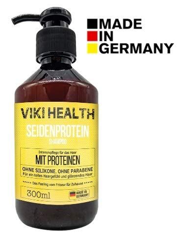 VIKI HEALTH Haarkur Protein Shampoo ohne Silikone, ohne Mikroplastiken - gegen...