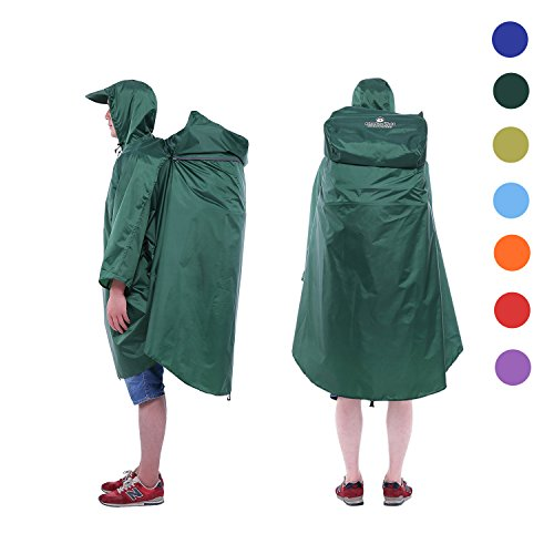 Adventure World Lightweight Backpack Poncho