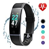 LETSCOM Fitness Tracker with Heart Rate Monitor, Color Screen Activity Tracker Watch, IP68 Waterproof...