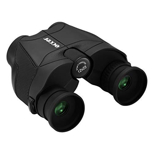 occer 12x25 HD Compact Binoculars for Adults Kids,Long Soft...