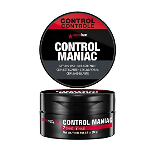 Sexy Hair Control Maniac Styling Wax, 2.5 Ounce