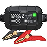 NOCO GENIUS2, 2-Amp Fully-Automatic Smart Charger, 6V And 12V Battery Charger, Battery Maintainer, And Battery...