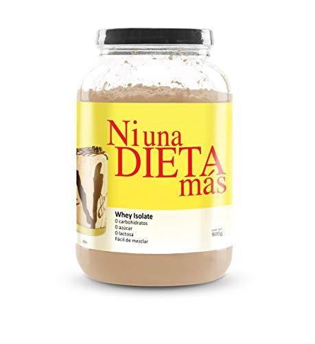 NI UNA DIETA MÁS - proteína whey isolate (delicioso chocolate) 0 carbohidratos, 0 Lactosa