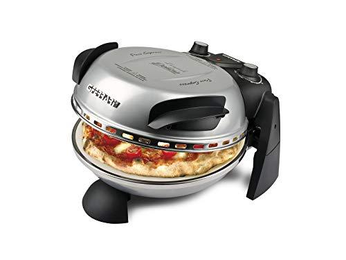G3Ferrari Delizia-Limited Edition Forno Pizza, 1200 W, Argento