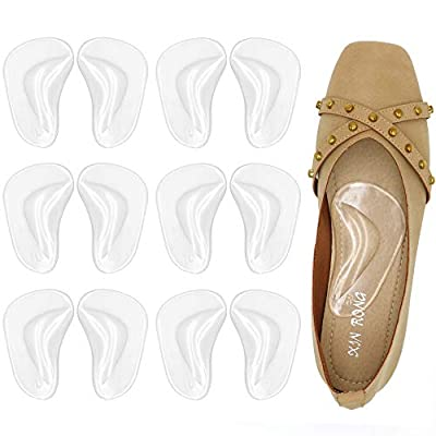 ARCH SUPPORT - Ergonomic arch support design provide perfect cushioning for your arch, helping with Flat foot, Plantar Fasciitis and Heel Spurs improving your gait and letting you walk or run with ease. EASY TO USE - Cleaning the shoes first, then si...