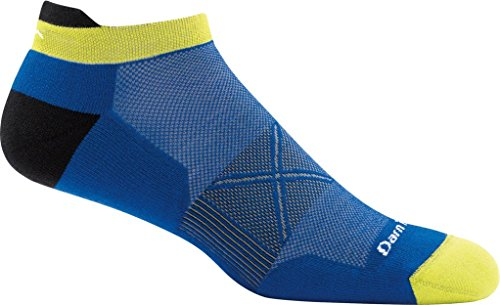 Darn Tough Coolmax Vertex No Show Tab Ultra-Light Cushion Sock - Men's Marine Large