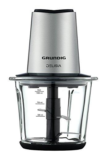 GRUNDIG CH 8680 Multi-Zerkleinerer, 1 L Glas, Delisia, Edelstahl, 1 Liter
