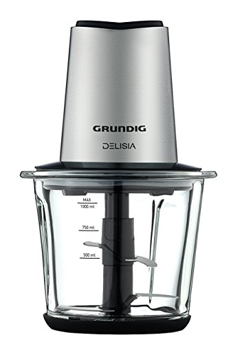 GRUNDIG CH 8680 Delisia-Tritatutto in Vetro, 1 l, 800 W, Rosa