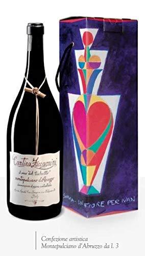 ZACCAGNINI TRALCETTO Vino rosso MONTEPULCIANO D'ABRUZZO BOTT MAGNUM LT 1,5 ASTUCCIATO - CONF. 2 PEZZI