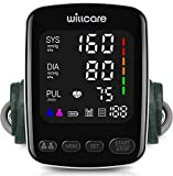 Willcare Blood Pressure Monitor, Digital Blood Pressure Machine with Heartbeat Detection, Upper Arm Cuff