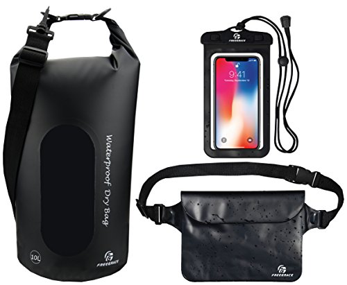 Freegrace Waterproof Dry Bags Set of 3 Dry Bag