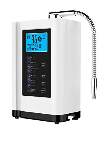 Product Image 1: AlkaDrops Water Ionizer, Water Purifier Machine PH 3.5-10.5 Alkaline Acid Water Machine,Up to -500mV ORP, 6000 Liters Per Filter,7 Water Settings,Auto-Cleaning,Intelligent Voice