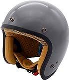 ダムトラックス(DAMMTRAX) バイクヘルメット JET-D グロスグレー レディース (57cm~58cm) -