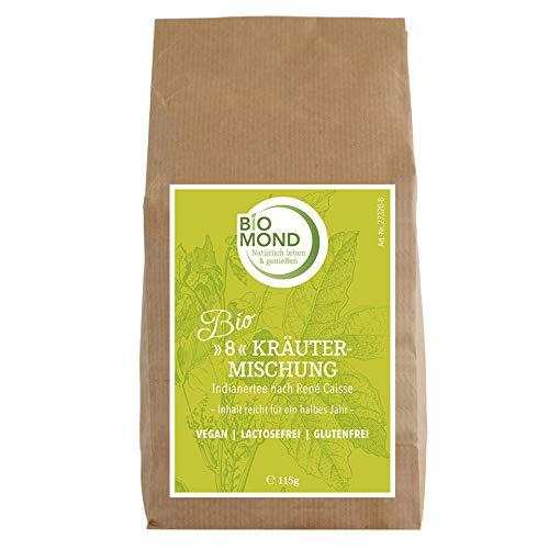 BIO *8*- Kräutermischung Kräutertee *Indianertee* René Caisse, 115 g / Schamanen Tee / Packung für 1/2 Jahr