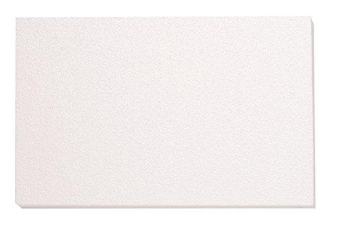 GLOREX 63803860K Placa de poliestireno, poliestireno, Blanco,...