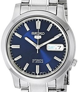 SEIKO 5 Men's SNK793 Automatic Stainless Steel Watch with Blue Dial 9