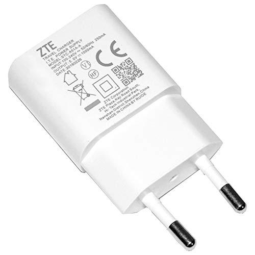 Caricatore Carica BATTERIE Presa USB Originale ZTE STC-A51A-A Bianco 700MAH BOMAItalia