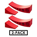 2-Pack Camper Leveler, Chock Kit   Andersen 3604 x2   Less Than 5 Minutes to Level Your Camper or Trailer   Levelers for RV   Simply Drive On. Chock. Done.   Faster and Easier Than RV Leveling Blocks!