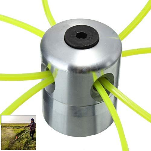 Weesey Testina per decespugliatore, Testina per decespugliatore Universale in Alluminio Testina per...