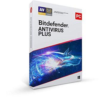 Bitdefender Antivirus Plus 2020 |1 appareil|1 an|PC|Téléchargement