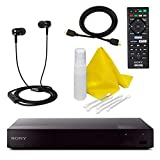 Sony BDP-S6700 4K Upscaling 3D Streaming Blu-ray Disc Player with Built in WiFi - 5 Pack Kit -...