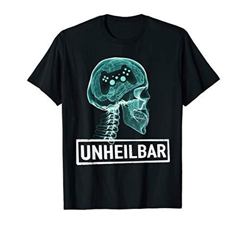 Tournament Gamer Zocker Spieler Geschenk für Geeks T-Shirt