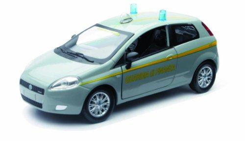 Newray 71146 - Fiat Grande Punto Guardia di Finanza, Scala 1:24, Die Cast
