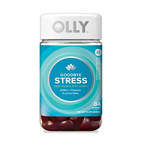 Olly Olly Good Bye Stress Gummies (84Count), 84Count 1