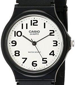 Casio Men's Classic Quartz Watch with Resin Strap, Black, 20 (Model: EAW-MQ-24-7B2) 12