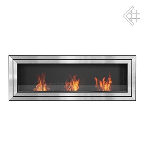 ItalPol Produkt Bioethanol Fireplace 1800 x 650 mm with Protective Glass