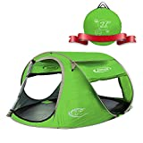 ZOMAKE Pop Up Tent 3 4 Person, Beach Tent Sun Shelter for Baby with UV Protection - Automatic and...