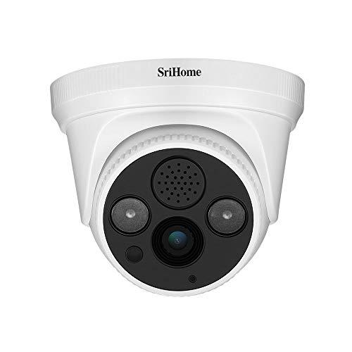 Sricam SriHome SH030 TELECAMERA WIFI IP CAMERA WIRELESS INFRAROSSI 3.0 Megapixel HD IR CUT ONVIF P2P Supporto SD AUDIO