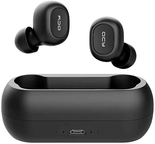 QCY-T1 TWS - Auriculares Deportivos con Bluetooth 5.0, inalámbricos,...