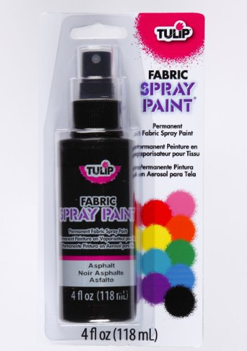 TULIP 26568 Fabric Spray Paint- Asphalt
