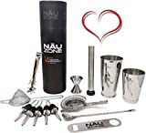 Professional Bartender Kit (14-Piece) | Bartending Kit Includes...