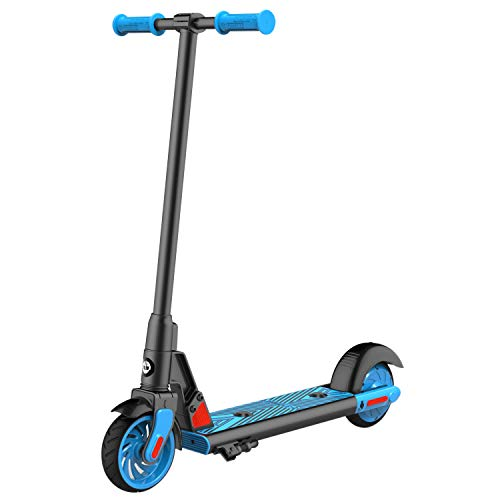 GOTRAX GKS Electric Scooter, Kick-Start Boost and Gravity Sensor Kids Electric Scooter, 6' Wheels UL...