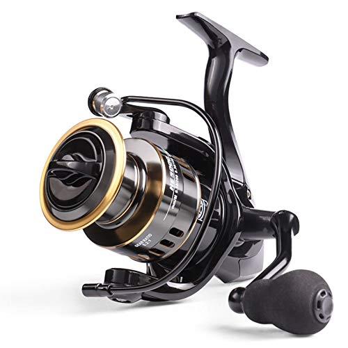 Riiai Mulinello Da Pesca HE1000 Max Trascinare 10 kg Mulinello Pesca 5.2: 1 Alta Velocit Bobina di Metallo Potente Spinning Bobine di Pesca Salata Bobina