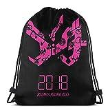 Yuanmeiju Drawstring Bag Sport Gym Sack Party Favor Bags Wrapping Gift Bag Mochila con cordóns Storage Goodie Bags Cinch Bags Kamen Rider ZiO