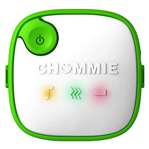 Chummie Elite Bedwetting Alarm for Children and Deep Sleepers  Award Winning Bedwetting Alarm System with Loud Sounds and Strong Vibrations, Green