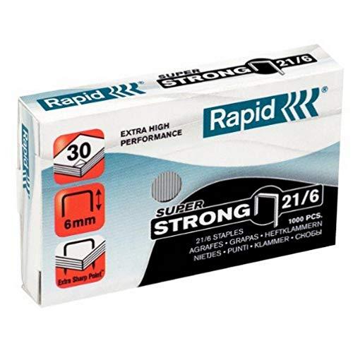 RAPID Punti metallici Super Strong 21/6 - 24867700